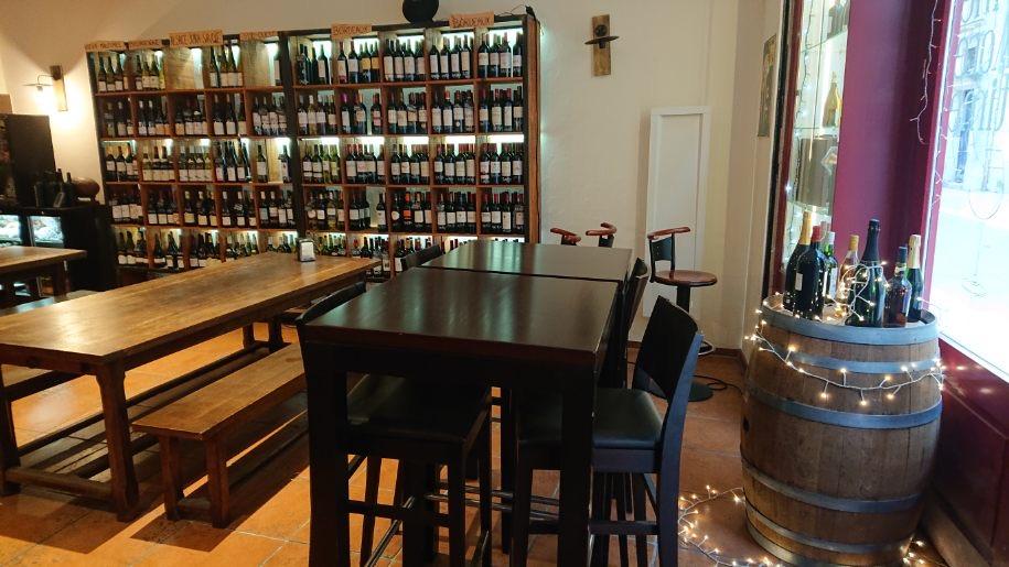 Intérieur bar à vin Wine More Time